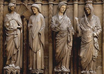 As In The Romanesque Period Best Gothic Sculptors Were Employed On Architectural Decoration Most Important Examples Of Stone Sculpture To Survive